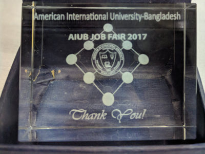 AIUB job fair 2017